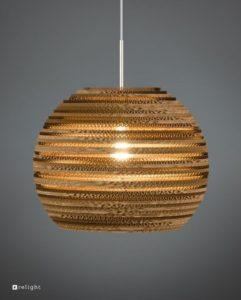 Kartonnen-Hanglamp-Rey-M-Relight-pendel-Transparant-350x435